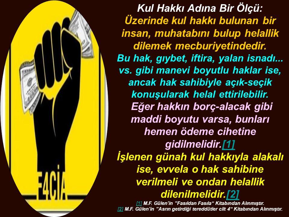 [1] M.F. Gülen'in Fasıldan Fasıla Kitabından Alınmıştır.